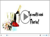 Felicitare muzica de Florii!