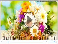 Felicitare muzicala de Florii