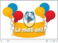 Felicitare muzicala: La multi ani, 88 ani!