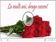Felicitare muzicala - Multi ani traiasca pentru Cuscra!