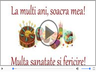 Felicitare muzicala - Happy Birthday Soacra mea!