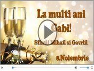 Felicitare muzicala si animata de Sfintii Mihail si Gavriil