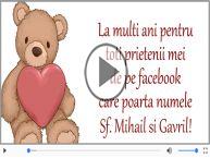 La multi ani cu sanatate de Sfintii Mihail si Gavriil!