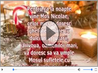 Urare de Moș Nicolae