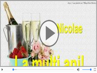 La multi ani, Nicolae si Nicoleta!