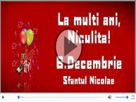 La multi ani cu sanatate de Mos Nicolae!
