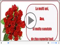 Felicitare muzicala de Sfanta Ana!