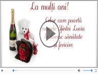 La multi ani de Sfanta Lucia!