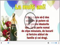 Felicitare muzicala si animata de Sfanta Lucia