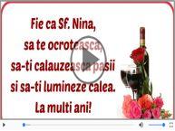 La mulți ani de Sfanta Nina