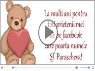 La multi ani cu sanatate de Sf. Parascheva!