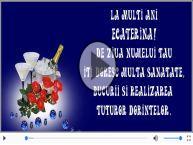 Felicitare muzicala de Sfanta Ecaterina!