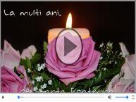 Felicitare muzica de Sfanta Ecaterina!