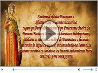 La multi ani cu sanatate de Sfanta Ecaterina!