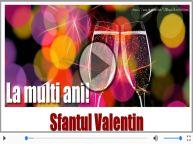 Felicitare muzicala si animata de Sfantul Valentin