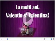 Felicitare muzica de Sfantul Valentin!