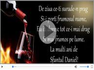 La multi ani cu sanatate de Sfantul Daniel!