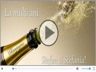 Felicitare muzica de Sfantul Stefan!