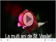 Felicitare muzicala si animata de Sfantul Vasile