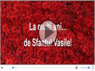 Felicitare muzica de Sfantul Vasile!