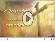 De Sfintii Adrian si Natalia, La multi ani sarbatoritilor!