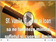 La multi ani de Sfintii Vasile, Grigore si Ioan!