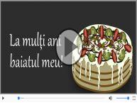 Happy Birthday to you, Baiatul meu!