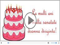 La multi ani, Doamna diriginta! Happy Birthday Doamna diriginta!