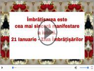 21 Ianuarie - Ziua Internationala a Imbratisarilor