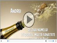 Andrei, La multi ani de ziua numelui!
