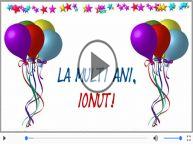 Felicitare muzicala de ziua numelui pentru Ionut!