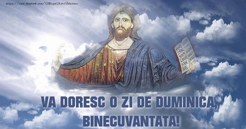 VA DORESC O ZI DE duminica BINECUVANTATA!