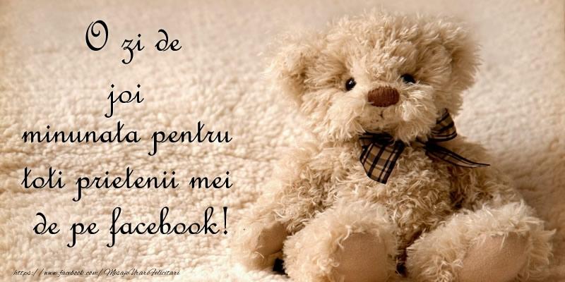 O zi de joi minunata pentru  toti prietenii mei de pe facebook!